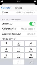 Apple iPhone SE - iOS 13 - E-mail - Configuration manuelle - Étape 23