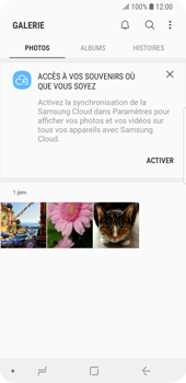 Samsung Galaxy S9 - Photos, vidéos, musique - Envoyer une photo via Bluetooth - Étape 4