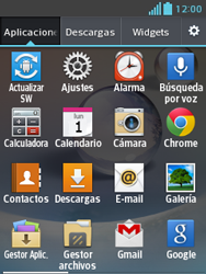 LG Optimus L3 II - E-mail - Configurar correo electrónico - Paso 3