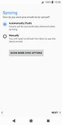 Sony Xperia XZ2 Compact - E-mail - Manual configuration IMAP without SMTP verification - Step 20