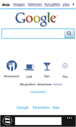 Nokia Lumia 610 - Internet - navigation sur Internet - Étape 8