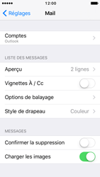 Apple iPhone SE - iOS 10 - E-mail - Configuration manuelle (outlook) - Étape 10