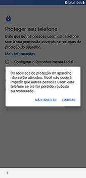 Samsung Galaxy J8 - Primeiros passos - Como ativar seu aparelho - Etapa 14