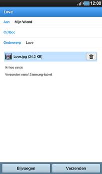 Samsung P1000 Galaxy Tab - E-mail - E-mails verzenden - Stap 12