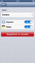 Apple iPhone 5 - E-mail - Configuration manuelle - Étape 15