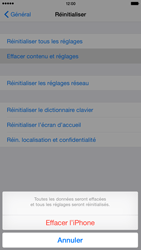 Apple iPhone 6 Plus iOS 8 - Device maintenance - Retour aux réglages usine - Étape 7