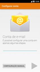 Motorola Moto Turbo - Email - Como configurar seu celular para receber e enviar e-mails - Etapa 7