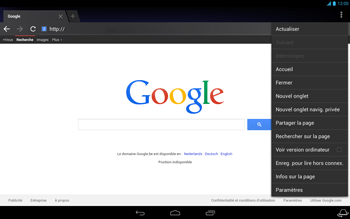 Acer Iconia Tab A3 - Internet - Navigation sur internet - Étape 13