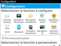 BlackBerry 9720 - Premiers pas - Créer un compte - Étape 9