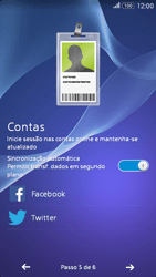 Sony Xperia E4 - Primeiros passos - Como ligar o telemóvel pela primeira vez -  10