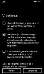 Nokia Lumia 530 (Type RM-1017) - Applicaties - Account aanmaken - Stap 20