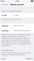 Apple iPhone SE - iOS 10 - Applicaties - Account aanmaken - Stap 12
