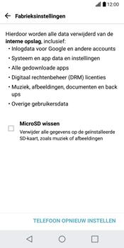 LG G6 H870 - Resetten - Fabrieksinstellingen terugzetten - Stap 6
