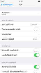 Apple iPhone 6 iOS 10 - E-mail - Handmatig instellen - Stap 10