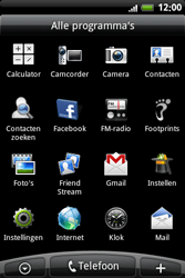 HTC A6363 Legend - Internet - Handmatig instellen - Stap 2