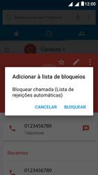 """Alcatel Pixi 4 (5"""") - Chamadas - Como bloquear chamadas de um número -  8"""