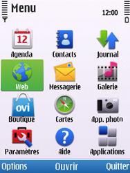 Nokia C5-00 - Internet - navigation sur Internet - Étape 2