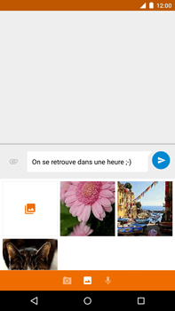 Motorola Nexus 6 - MMS - Envoi d