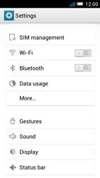 Alcatel OT-5036X Pop C5 - Network - Usage across the border - Step 4