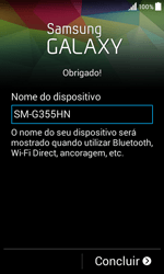Samsung Galaxy Core II - Primeiros passos - Como ligar o telemóvel pela primeira vez -  16