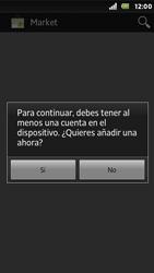Sony Xperia U - Aplicaciones - Tienda de aplicaciones - Paso 4