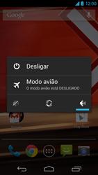 Motorola Moto X - Funções básicas - Como reiniciar o aparelho - Etapa 3