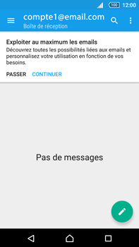 Sony Xperia Z5 Premium (E6853) - E-mail - Configuration manuelle - Étape 19