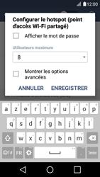 LG K4 - Internet et connexion - Partager votre connexion en Wi-Fi - Étape 10