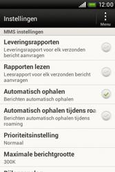 HTC A320e Desire C - MMS - probleem met ontvangen - Stap 5