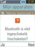 Samsung B2100 Xplorer - Bluetooth - Headset, carkit verbinding - Stap 6
