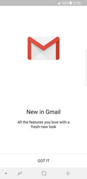 Samsung Galaxy S8 - Android Oreo - E-mail - Manual configuration (gmail) - Step 4
