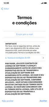 Apple iPhone X - iOS 12 - Primeiros passos - Como ativar seu aparelho - Etapa 18