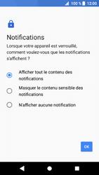 Sony Xperia XZ1 - Sécuriser votre mobile - Activer le code de verrouillage - Étape 11
