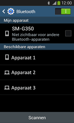Samsung G3500 Galaxy Core Plus - Bluetooth - headset, carkit verbinding - Stap 6