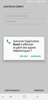 Samsung Galaxy A8 - E-mails - Ajouter ou modifier votre compte Outlook - Étape 10
