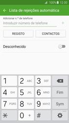 Samsung Galaxy S6 Edge - Chamadas - Como bloquear chamadas de um número -  8