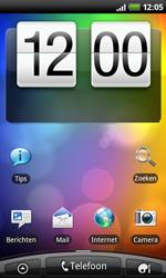 HTC A7272 Desire Z - Voicemail - handmatig instellen - Stap 1