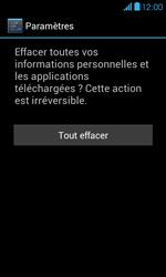 Bouygues Telecom Bs 401 - Aller plus loin - Restaurer les paramètres d'usines - Étape 7