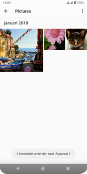 Sony xperia-xz3-dual-sim-model-h9438 - Contacten en data - Foto