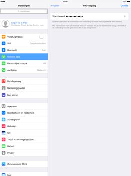 Apple iPad Pro 12.9 inch (Model A1671) - WiFi - Mobiele hotspot instellen - Stap 5