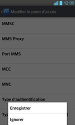 LG P710 Optimus L7 II - Internet - configuration manuelle - Étape 17