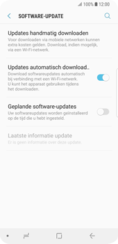 Samsung Galaxy S9 - Software update - update installeren zonder PC - Stap 5