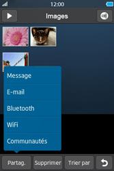 Samsung Wave M - Photos, vidéos, musique - Envoyer une photo via Bluetooth - Étape 6