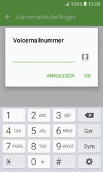 Samsung Galaxy Xcover 3 VE - Voicemail - handmatig instellen - Stap 9