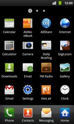 Samsung I9001 Galaxy S Plus - Internet - Internet browsing - Step 2