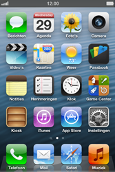 Apple iPhone 4S met iOS 6 (Model A1387) - Internet - Uitzetten - Stap 1