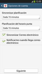 Samsung Galaxy S4 Mini - E-mail - Configurar correo electrónico - Paso 18
