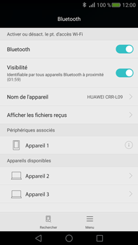 Huawei Mate S - Bluetooth - connexion Bluetooth - Étape 9