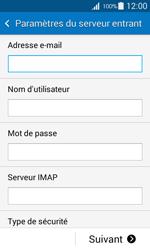 Samsung G357 Galaxy Ace 4 - E-mail - Configuration manuelle - Étape 9