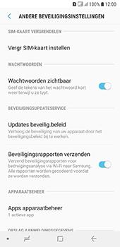 Samsung Galaxy A6 - Beveiliging - pas de pincode voor je simkaart aan - Stap 6